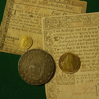 colonial money - US Coins
