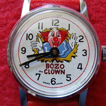 "First Issue ""Bozo"" wrist watch"