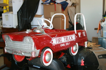 murray fire engine pedal car collectors weekly