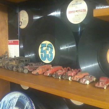 Shelves of toys - Model Cars