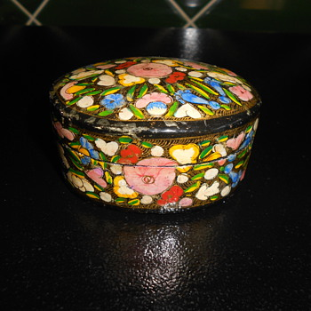 Enamel Trinket Box