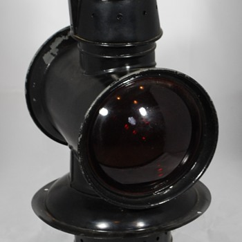 Adlake 27 Caboose Cupola Lamp (about 1900) - Railroadiana