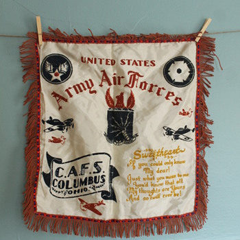 US Army Air Force Pillow Cover - Military and Wartime