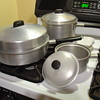 """WEST BEND ALUMINUM """"Flavo-Seal"""" cookware"""