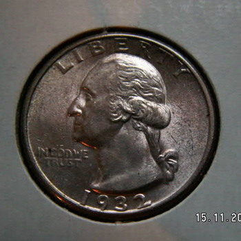 1932 Washington Quarter ~1st Year Issued - US Coins