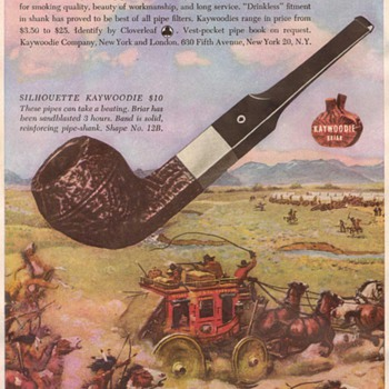1948 - Kaywoodie Pipe Advertisement - Advertising