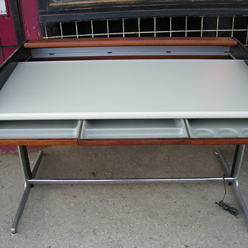 Herman Miller George Nelson Action Roll Top Desk
