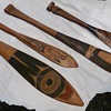 Four nice little Northwest Coast Native American paddles