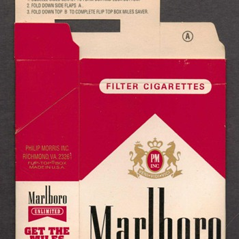 Marlboro Gear - Mile Savers Box - Advertising