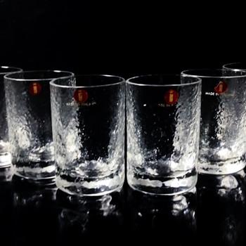 "IITTALA -FINLAND  ""A SET OF 6 SHOT GLASSES"""