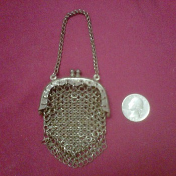 ~~Vintage Metal Mesh Coin Purse~~