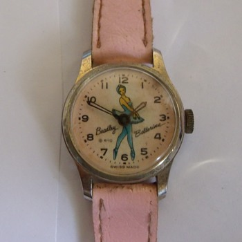 1964 Bradley Ballerina Wristwatch...No Leg Action, LOL - Wristwatches