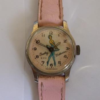 1964 Bradley Ballerina Wristwatch...No Leg Action, LOL