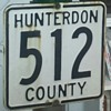 Hunterdon County NJ Route 512 Shield