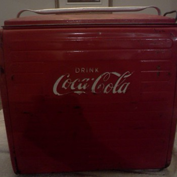 old canadian coca-cola coolers