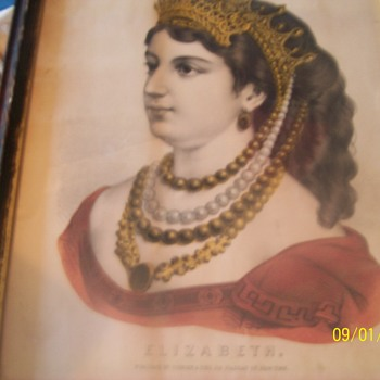 Litho prints 1860's