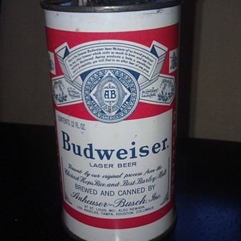 Musical Budweiser beer can lighter - Breweriana