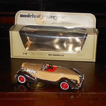 Matchbox Model of Yesteryear Y-19 1935 Auburn 851