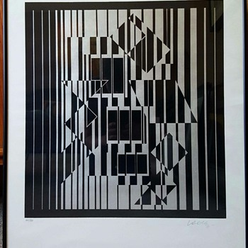 Victor Vasarley/still researching this print - Mid-Century Modern
