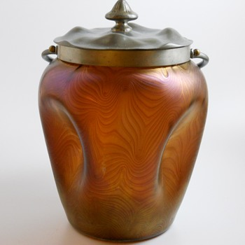 500 post, LOETZ Phänomen, Cookie Jar, PG 2/467, Circa 1902