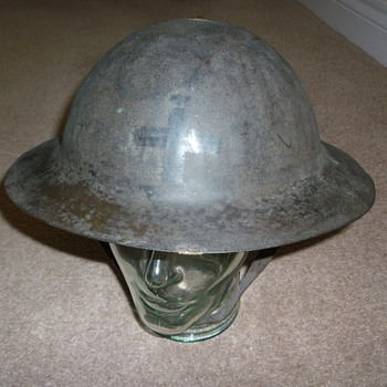 WW1 Chaplains helmet