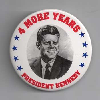 Real or Fake 1964 John F. Kennedy pinback
