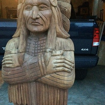 Cigar Store Indian - Native American