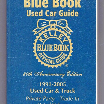 2006 Kelley Blue Book - Books