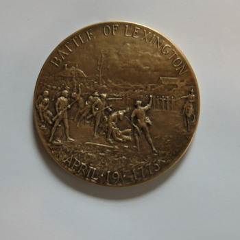 Battle of Lexington Commemorative Coin - Military and Wartime