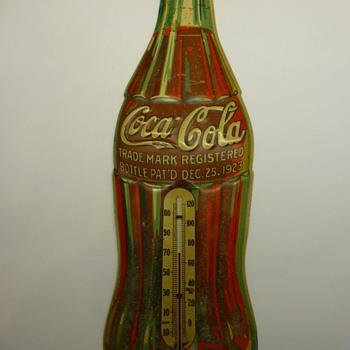 1936 Coca-Cola thermometer