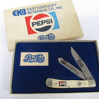 Pepsi-Cola EKB Pocket Knife
