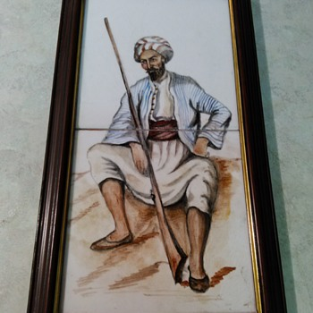 ARAB MAN TILE