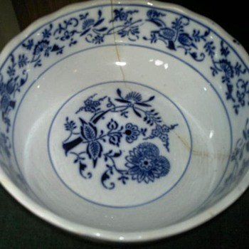 Chinese ? Blue &amp; White Bowl