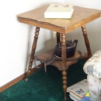 Vintage Square Table - Furniture