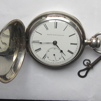 Elgin Key Wind Pocket Watch - Pocket Watches