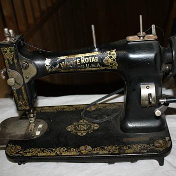 White Sewing Machine (1920s)