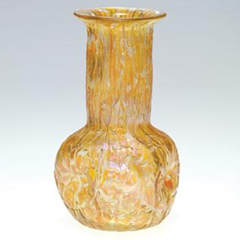 Loetz Astglas Rose Bowl Series II Prd. Nr. 64 ca. 1900 - Art Glass