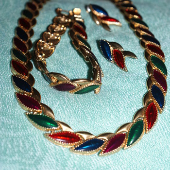 Necklace, Bracelet, and Earrings - Costume Jewelry