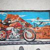 david mann  ghost rider tapestry 
