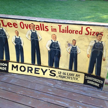 Lee Overalls - Advertising