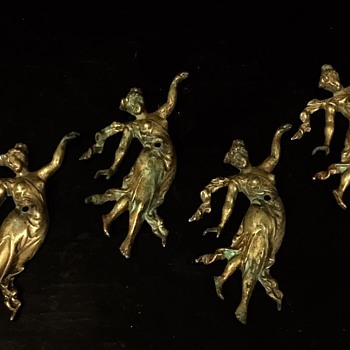 Victorian Bronze / Brass Angels