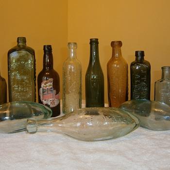 Antiques bottles - Bottles