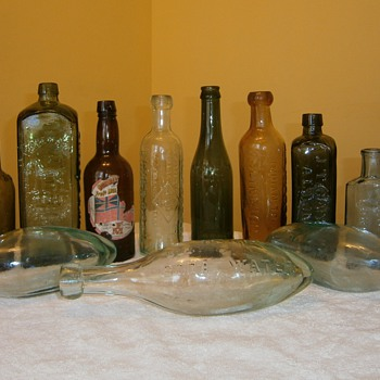 Antiques bottles