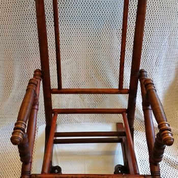 Sling Rocking Chair