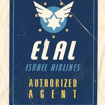 EL AL Agent 1950