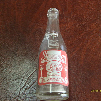 Stempien Cola Bottle - Bottles