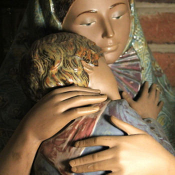 My Hubby's Favorite Mother & Child Statue - Figurines