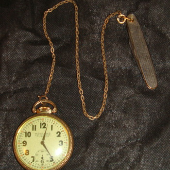 Pocket Watch early 1950s purchased?? Holland railroader 17 jewels