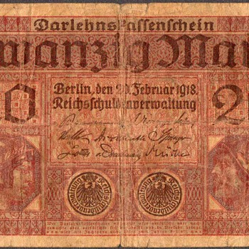 Germany - (20) Mark Bank Note