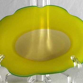 Small bowl by Koji Ishii - Art Glass